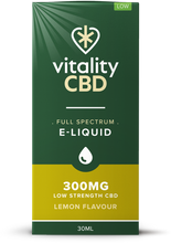 Load image into Gallery viewer, Vitality CBD Eliquid 30ml - 300mg