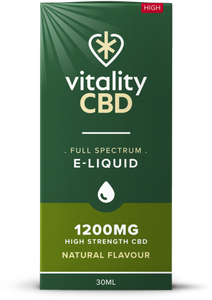 Vitality CBD Eliquid 30ml - 1200mg