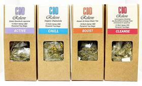 CBD Relieve Premium Rich Hemp Tea