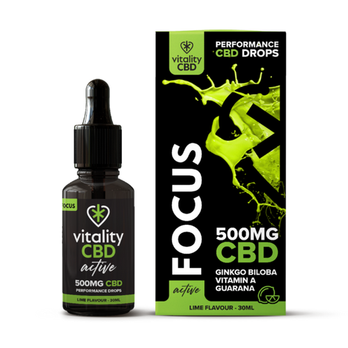 Vitality Active: CBD Focus Drops 30ml