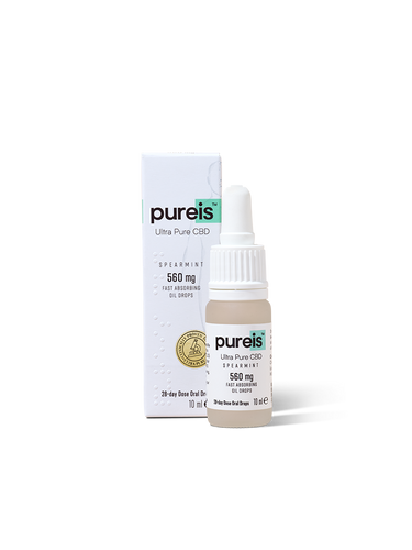 Pureis Fast Absorbing Spearmint Oil 560mg 20ml Spray