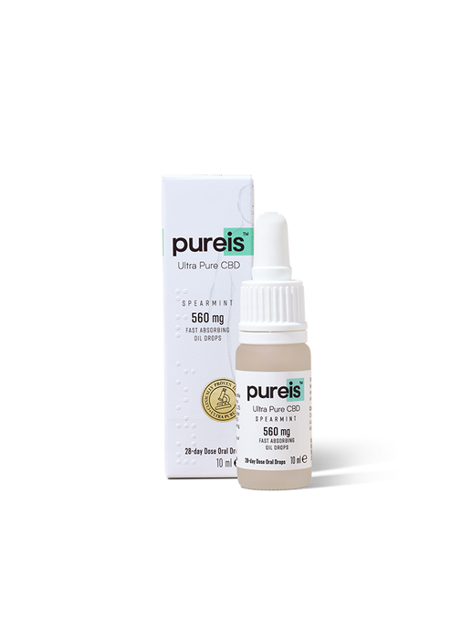 Pureis Fast Absorbing Spearmint Oil 560mg 10ml Spray