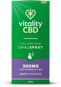 Vitality CBD Oral Spray 30ml - 300mg