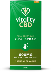 Vitality CBD Oral Spray 30ml - 600mg