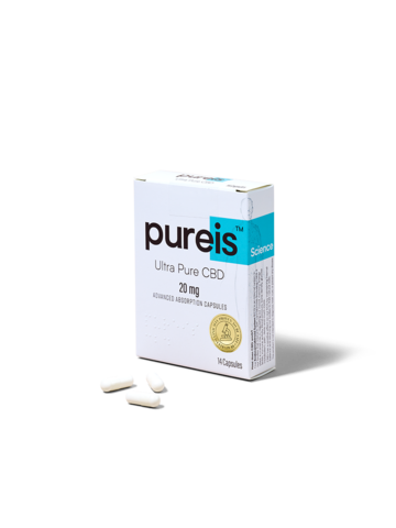Pureis Advanced Absorption Capsules, 20mg