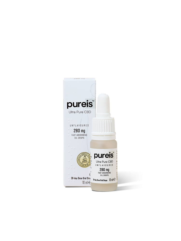 Pureis Fast Absorbing Neutral Oil 280mg 10ml Drops