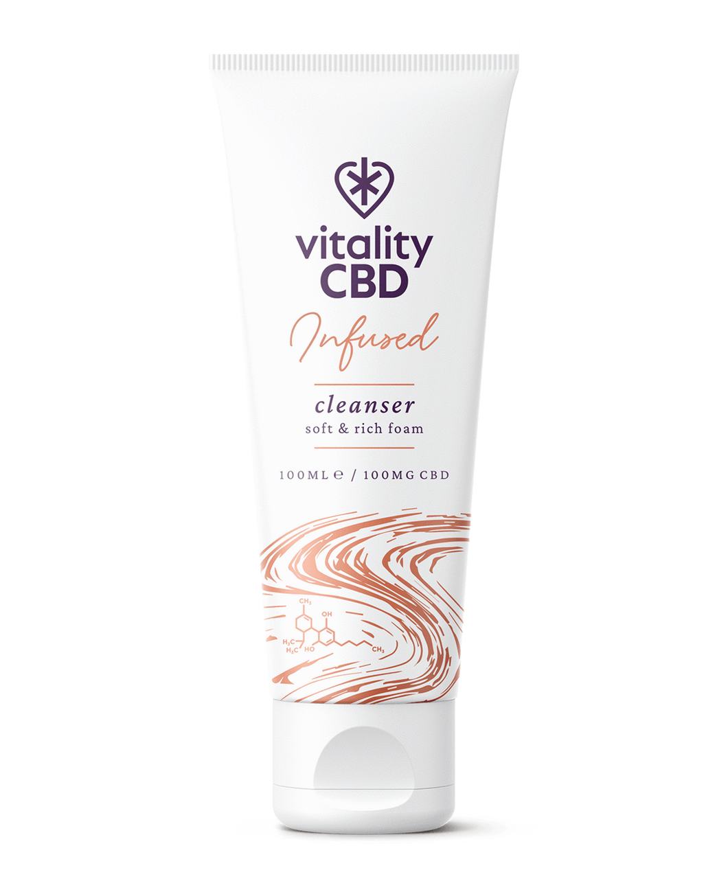 Vitality CBD Infused Cleanser