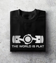 "Load image into Gallery viewer, ""World is Flat"" T-Shirt"