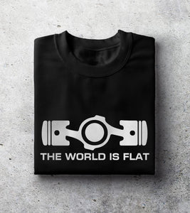"""World is Flat"" T-Shirt"