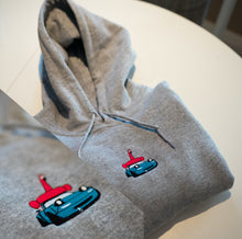 Load image into Gallery viewer, Embroidered Miata Flamingo Hoodie