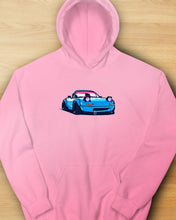 Load image into Gallery viewer, Miata Cartoon Hoodie Upsub