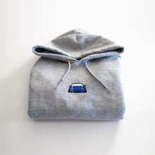 Load image into Gallery viewer, Mariner Blue Embroidered Miata Hoodie