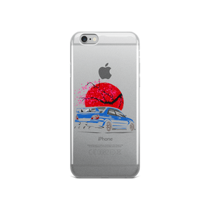 Subaru Cartoon iPhone Case
