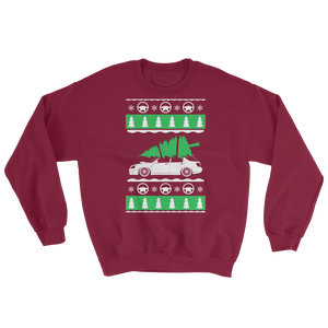 Christmas Wagon Subaru Sweatshirt