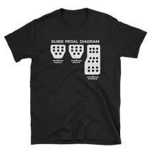 Load image into Gallery viewer, Subaru Pedal Diagram T-Shirt