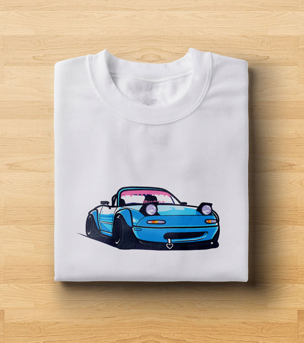 Miata Cartoon T-Shirt Upsub