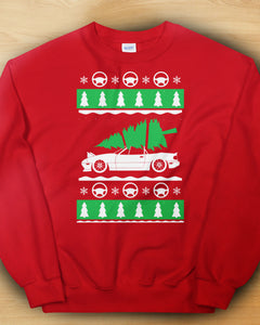 Miata Tree Christmas Sweater