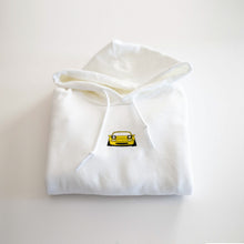 Load image into Gallery viewer, Sunburst Yellow Embroidered Miata Hoodie