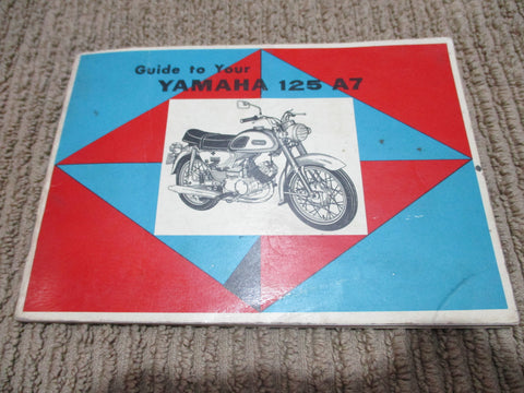 Yamaha 125A7 Owners Manual