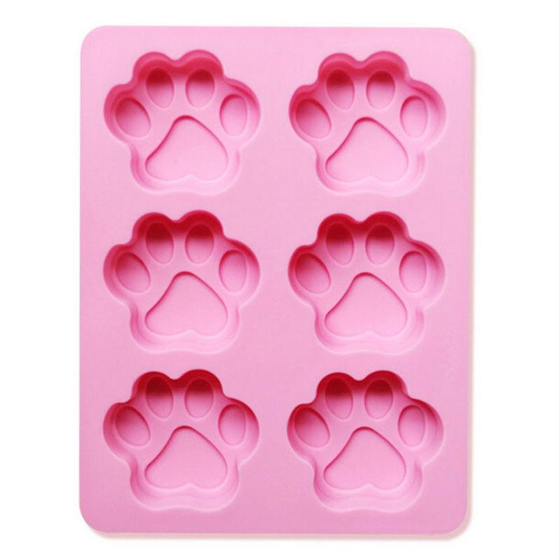 Cat Feet  Soap Mold Silicone