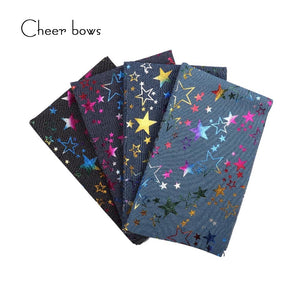 40*50CM Cotton Denim Star