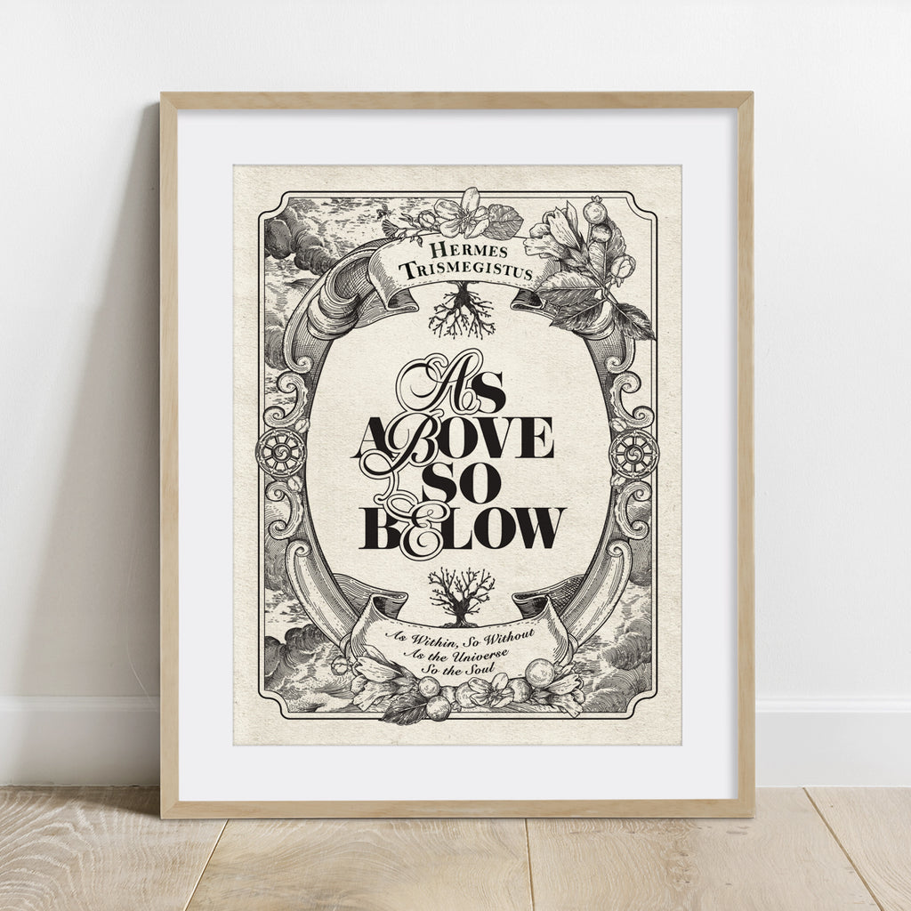 As Above So Below Print
