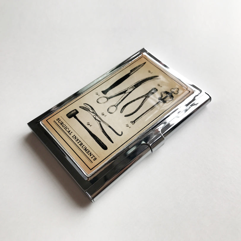 Surgical Instruments Business Card Case