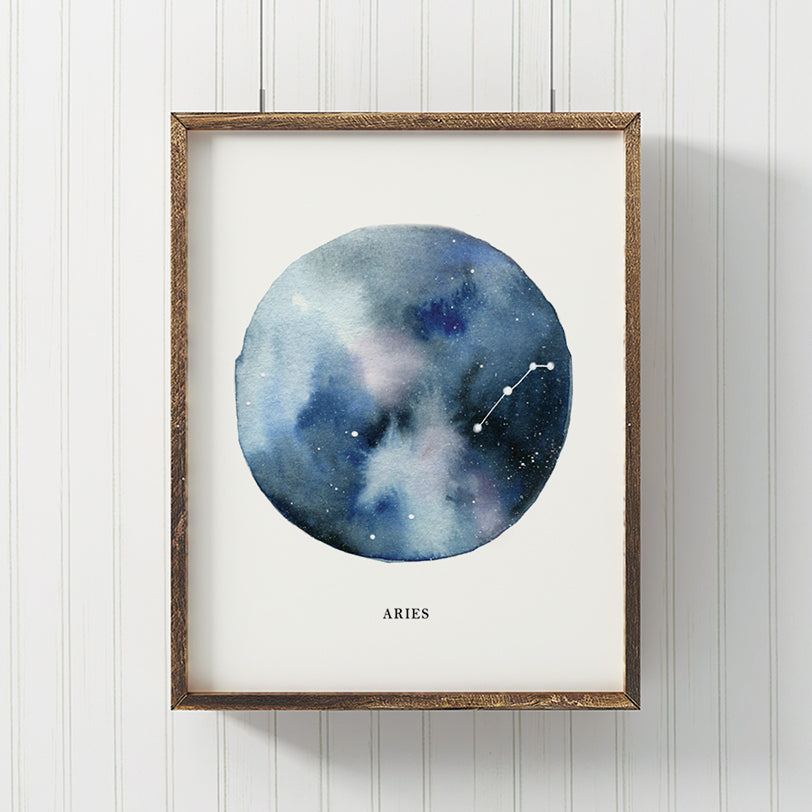 Aries Astrological Sign Constellation Print