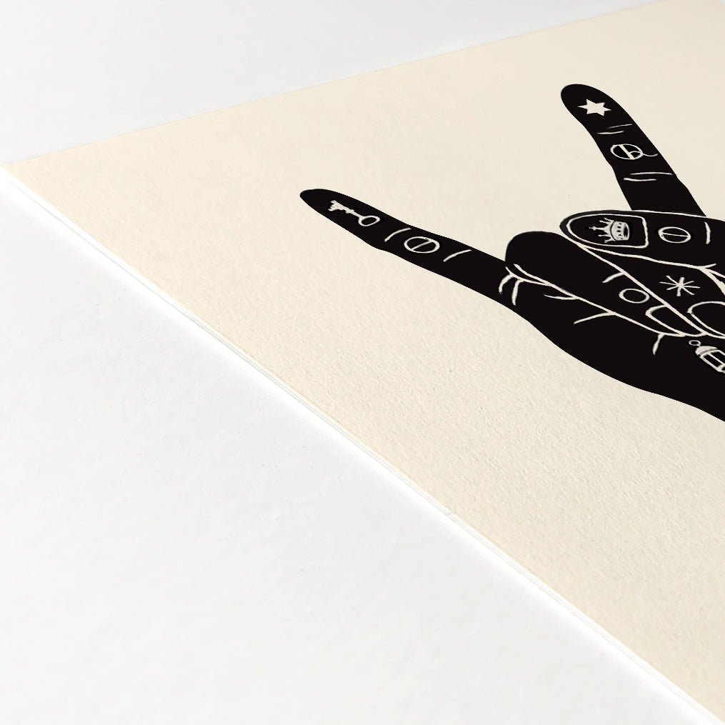 Alchemy Hand (Greeting) Print