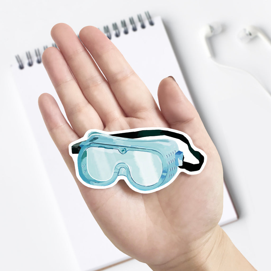 Lab Goggle Vinyl Sticker