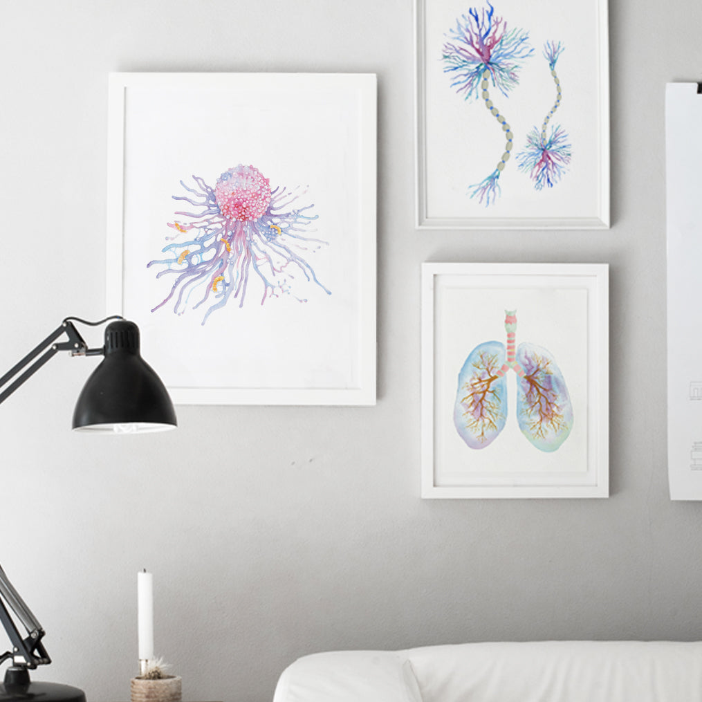 Macrophage Art Print