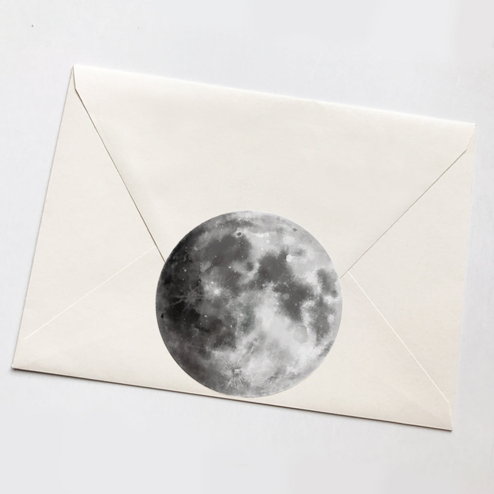 Moon Vinyl Sticker (Large)