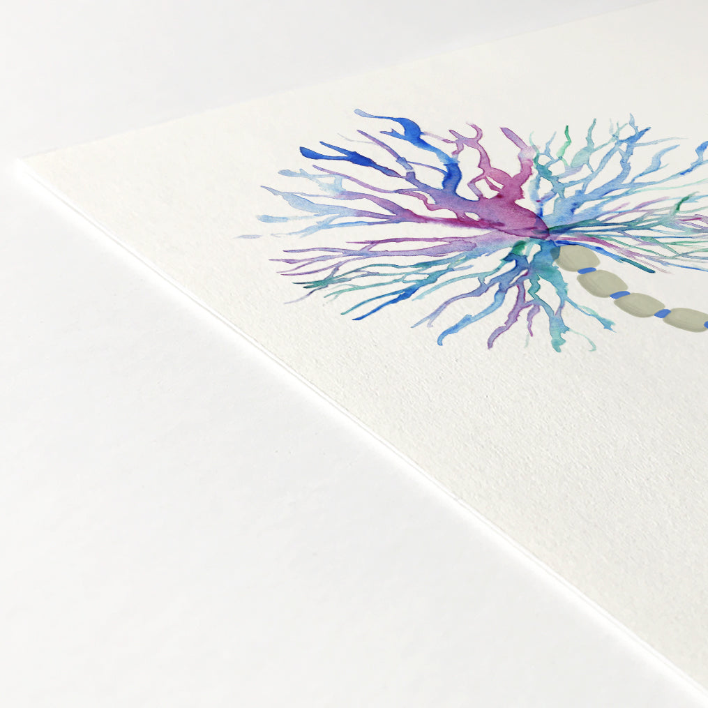 Neuron Watercolor Print