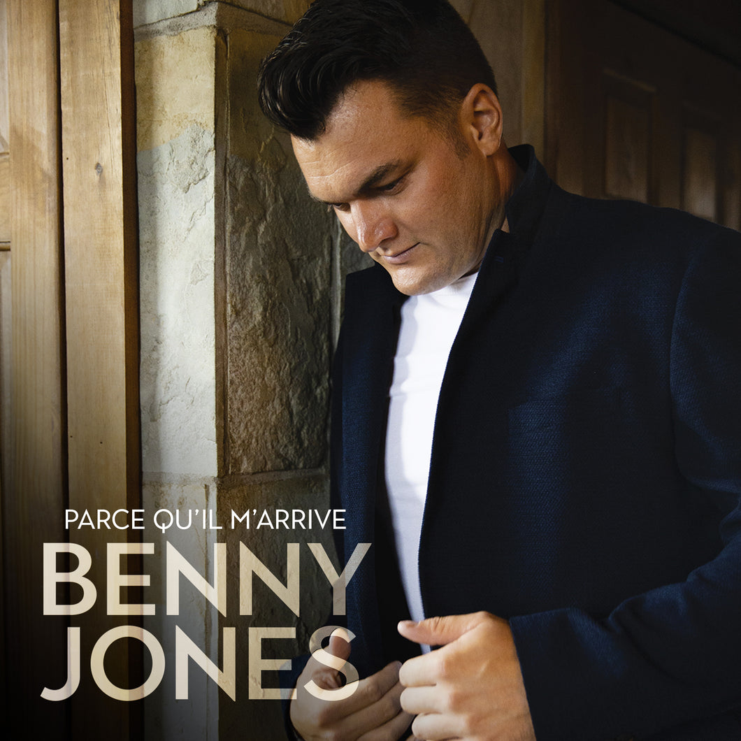 CD Album «Parce qu'il m'arrive» - Benny Jones