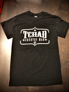 T-Shirt « Tchad Country Man » - Tchad (noir)