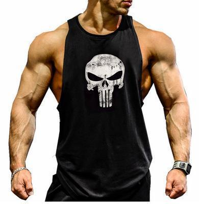 Débardeur Capitain America The Punisher de crossfit