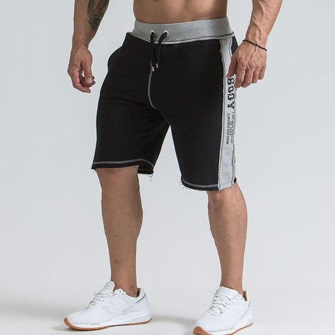 Short en coton lâche Running sport Gym Fitness entraînement Crossfit