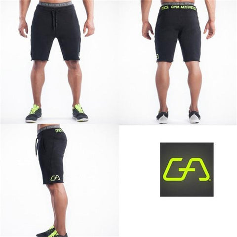 SHORT Hommes Gymnases Fitness Coton Shorts Casual Plage GenouJogger Bodybuilding Entraînement crossTRAINING