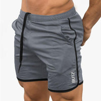 short Hommes  Sporting slim Hommes Culturisme Sport Court Crosstraining Homme gym Running Shorts