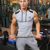 Sweat Crossfit Pullover Hommes Gymnases à Capuche  Sportswear  Workout