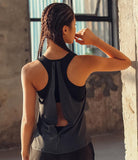 Yoga Top Avec Soutiens-Gorge Running Gym Fitness Workout
