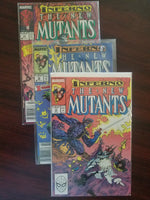 The New Mutants 71, 72, 73 - Inferno