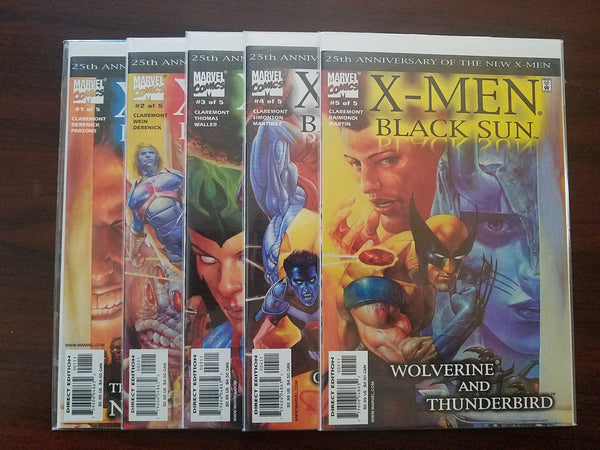 X-men Black Sun Anniversary New X-men