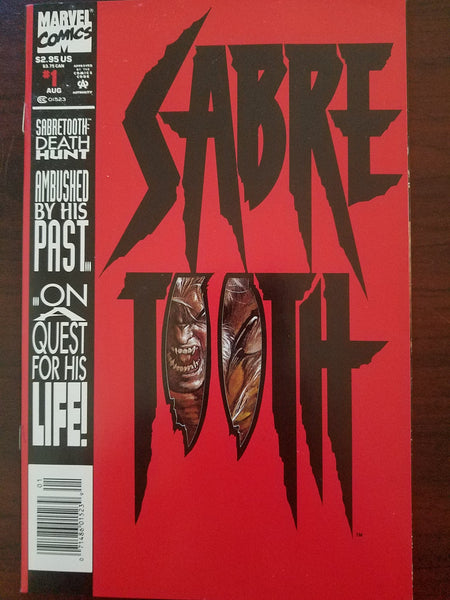 Sabretooth: Death Hunt #1 Larry Hama / Mark Texeira