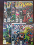 Uncanny X-men 261 - 269 Captian America, Black Widow, Wolverine, Jim Lee , Marc Silvestri