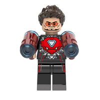 Marvel Infinity War Tony Stark Iron Man Bleeding Edge Armor