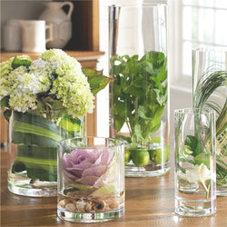 GLASS VASE CYLINDERS