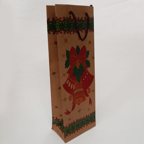 JINGLE BELLS WINE GIFT BAG