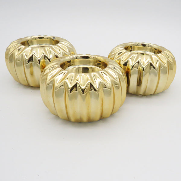Candle Holders - Gold