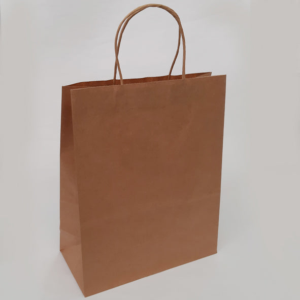 PLAIN BROWN MED GIFT BAG